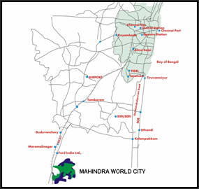 Mahindra world city business destinations in india click here to zoom gumiabroncs Images